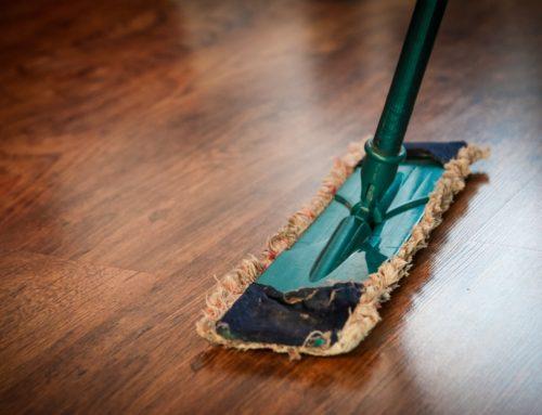 Rengøringshjælp til fruen