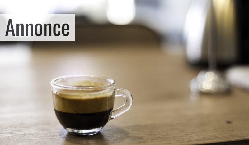 En kop espresso