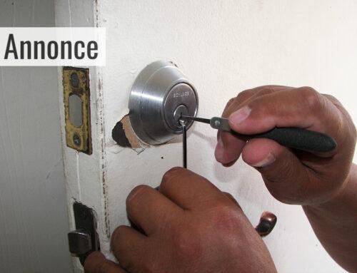 Hvad gør du hvis du er låst ude?