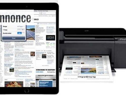 Lær hvordan du kan udskrive fra iPad til trådløs printer