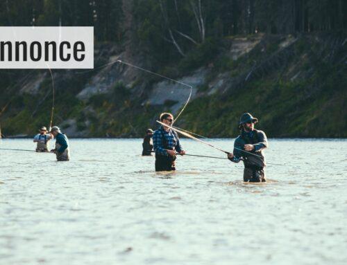 Fiskeri er afslappende og hjælper på stress