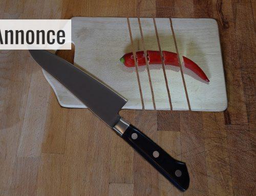Nyt køkkenudstyr giver større glæde ved madlavningen